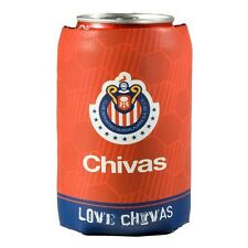 Chivas Mexico Can Coozie - Official Licensed Product - Red & Blue Team Crest