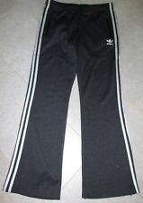 Adidas Originals Hose Trainingshose, schwarz, silber, Gr. 42 Zipper am Bein