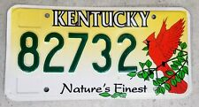 #99 cent sale# Kentucky Specialty Cardinal License Plate Natures Finest 82732