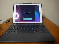 Apple iPad 5th Gen 32GB Wifi+Cellular (AT&T) w/ Logic Slim Combo Folio Keyboard