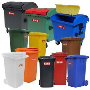 Sulo Mini-Mülltonne Müllcontainer Tischdekoration  Kinderspielzeug  Stiftebutler