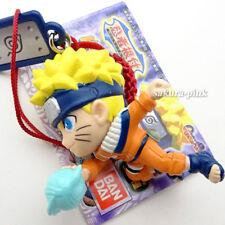 Uzumaki Naruto Ninjya Netsuke mini Figure Key Chain Authentic Bandai Japan