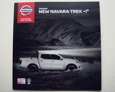 Nissan . Navara . New Nissan Navara Trek -1° . August 2017 Sales Brochure