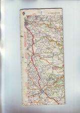 carte routiere 83 / 1942 complete bon etat sans couverture