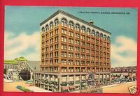 INDIANAPOLIS INDIANA TRACTION TERMINAL BUILDING CARL'S CARDS  CRAFT   POSTCARD