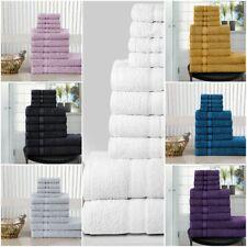 10 PIECE TOWELS PACK  100% COMBED COTTON TOWEL BALE SET LUXURY HAND BATH FACE