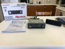 PIONEER PREMIER DEH-P520 CD PLAYER RECEIVER HEAD UNIT OLD SCHOOL