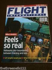 FLIGHT INTERNATIONAL #4962 - MILITARY SIMULATORS - NOV 30 2004