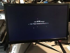 """24"""" LG Flatron E2442TC-BN DVI/VGA 1080p Special Stand"""