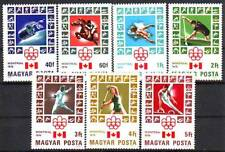 HUNGARY - 1976. Summer Olympic Games - Montreal  - MNH