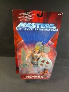 2001 Mattel HE-MAN MASTERS OF UNIVERSE MOTU IRON CROSS VARIANT action figure MIB