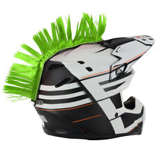 Helmet Mohawk Green PC Racing MX ATV Enduro Dirtbike Motocross Trail