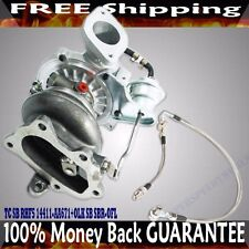 Turbo+Oil Feed Line for 08 09 Subaru Legacy GT Limited Sedan 4D 2.5 VF46 RHF5
