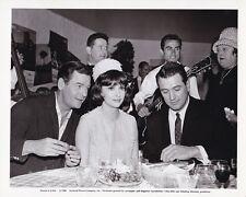 ROCK HUDSON GIG YOUNG GINA LOLLOBRIGIDA Original CANDID Vintage 1964 Photo