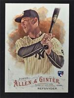 2016 Topps Allen and Ginter #324 Rob Refsnyder RC SP
