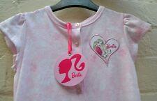 BARBIE GIFT Set Pyjamas Sleepwear Sz 4 pink BNWT + barbie DOORKNOB hanger PJ's