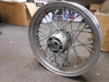 """Harley Davidson CMR Made in Italy 16x3 16"""" Wheel Rim w/ Hub & Spokes 43085-97"""