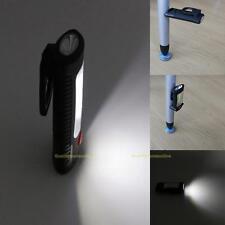 COB LED Work Lamp Magnetic Hook Hanging Camping Tent Lamp Flashlight Torch 2Mode