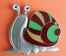 Josefine Snail Geocoin - Friendship LE150 - Satin Silver New Unactivated Geocoin