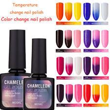 New BELLE FILLE Chameleon Temperature Color Change Nail Gel Polish Soak-off UV
