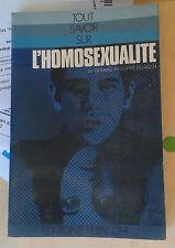 GUASCH. L'homosexualité. Filipacchi. 1972.