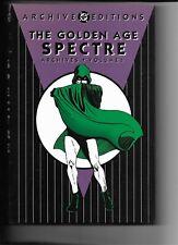 Golden Age Spectre Archives volume 1 (DC) Bails intro rep. More Fun Comics 52-70