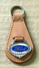 Classic Ford Consul NEW Keyring Leather Key Fob/ Ring 1960s Melsom Birmingham