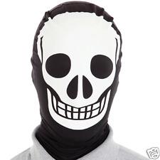 Skeleton  Morph Mask Unisex One size Original Morphsuit Mask party