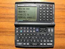 RARE Sharp Model YO-530 Electronic Organizer 256KB