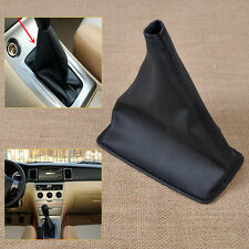 Black for 2001-2013 Toyota Corolla PU Leather Gear Stick Shift Cover Boot Gaiter
