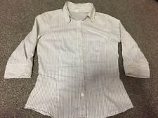 women casual striped white shirt 8