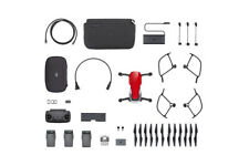 DJI Mavic Air - Ultraportable 4K Quadcopter - Fly More Combo - Flame Red