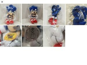 Sonic The Hedgehog Denny's Plush Toy 2000 Sonic Underground Rare NIB New In Bag