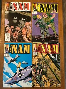 The 'Nam 1,9,11-29,34,35 - Marvel 1986 - lot 23 issues - NM