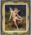 Framed Hand Painted Oil Painting Repro Bouguereau L'Amour A L'Epine, 20x24in