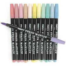 Brush Markers 12/Pkg -Pastel