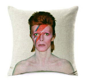 David Bowie Pillows Case Cartoon Cushion Cover 45x45cm Home Decor Throw Pillow