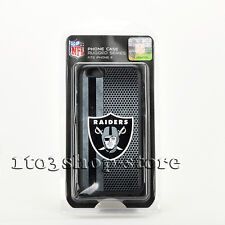 NFL Oakland Raiders Rugged Hard Case Cover for iPhone 6 iPhone 6s (Gray/Black)