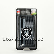iPhone 6 iPhone 6s NFL Oakland Raiders Black & Silver Hard Shell Case Snap Cover