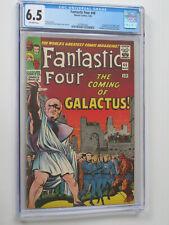 Fantastic Four # 48 us Marvel 1966 1st app Galactus & Silver Surfer cgc 6.5