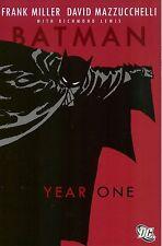 BATMAN: YEAR ONE DELUXE SC TPB Frank Miller & DC Comics TP