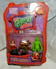 The Grinch Stole Christmas, Grinch & Martha May Whovier, New in package, 2000