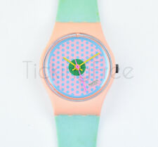 Swatch Dummy Prototype 1986 - LP100 - Pink Flamingo with Baby Band - Nuovo