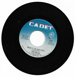 THE DELLS - WEAR IT ON OUR FACE - CADET - EX. CONDITION