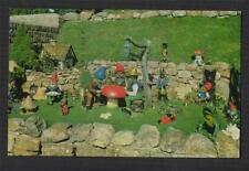 The Gnomes, Blackgang China. Isle of Wight. 1969.  Dean & co. postcard  zc43