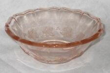 Bowl Pink Depression Glass
