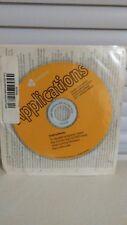 Gateway Applications Reinstallation CD Rom Desktop Application NEW