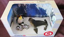 Schleich 41238 SEAL SEA LION PENGUIN Worlds Imagination Scenery Nature BOX SET