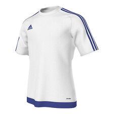 Adidas Estro 15 Maglia Manica corta Bianco Blu L