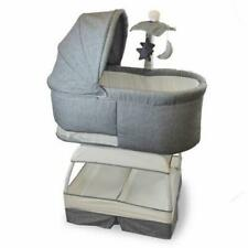 Replacement Fabric Only For Baby Bliss Sweetli Deluxe Bassinet Stonewash Grey